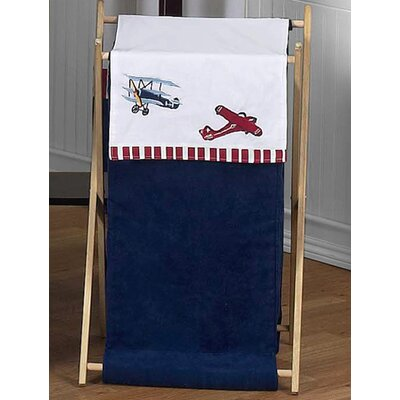 Sweet Jojo Designs Vintage Aviator Laundry Hamper