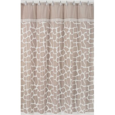 Sweet Jojo Designs Giraffe Cotton Shower Curtain