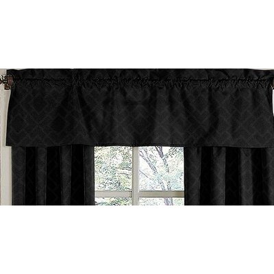 Sweet Jojo Designs Diamond Cotton Rod Pocket Tailored Curtain Valance
