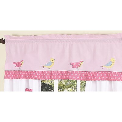 Sweet Jojo Designs Song Bird Cotton Curtain Valance