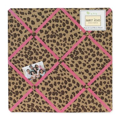 Cheetah Pink Collection Memo Board