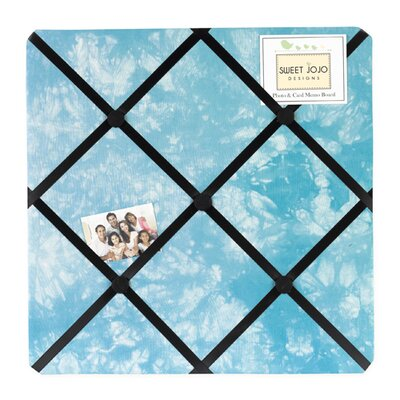 Sweet Jojo Designs Peace Blue Collection Memo Board