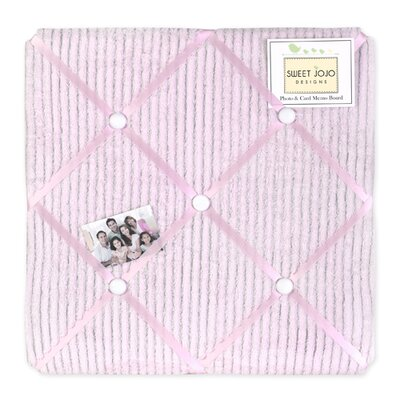 Chenille Pink Collection Memo Board