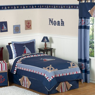 Sweet Jojo Designs Nautical Nights Kid Bedding Collection