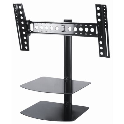"Eco-Mount by AVF Tilt and Turn TV Mount with AV Shelving (46"" Screens)"