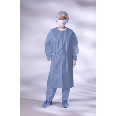 Medline Isolation Gown with Knit Cuff