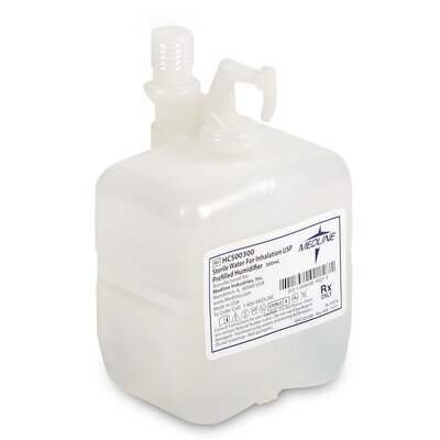 Medline Pre Filled Bubble Humidifiers