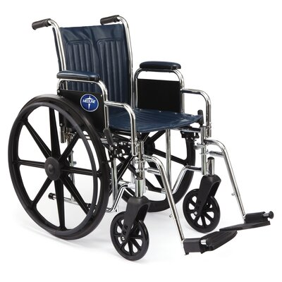 Medline Excel 2000 Narrow Wheelchair