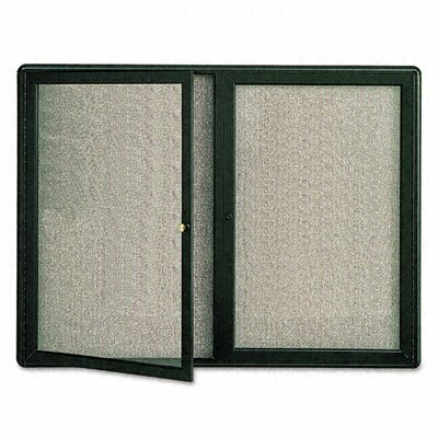 Quartet® Radius Frame Fabric Bulletin Boards- Medium to Large