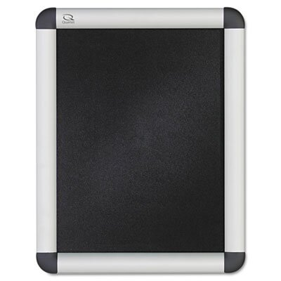 Quartet® Clip-Frame Wall and Desktop Sign Holder in Aluminum