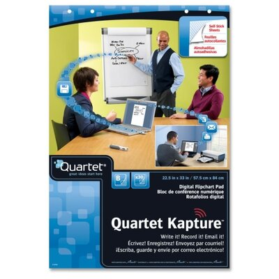 Quartet® Kapture Digital Flipchart Pads, 2 Pack