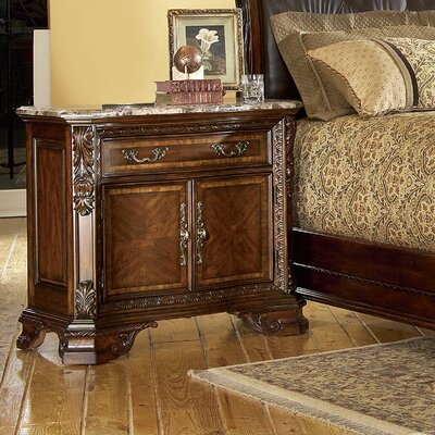 A.R.T. Old World 1 Drawer Nightstand