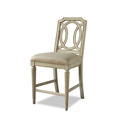 A.R.T. Provenance Counter Height Chair in Distressed Ivory