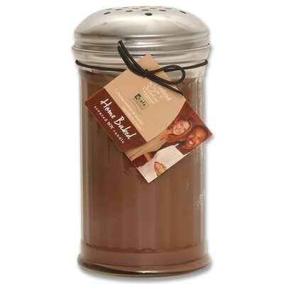 kathy ireland Home by Hanna's Candle Co. Acafe Chocolate Souffle Cake Shaker Jar Candle