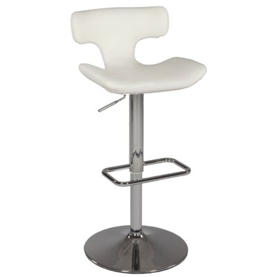 "Chintaly Imports 26"" Swivel Counter Stool with Ladder Back"