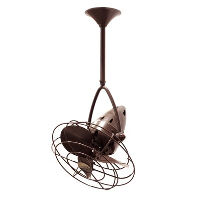 Matthews Fan Company Jarold 3 Metal Blade Ceiling Fan