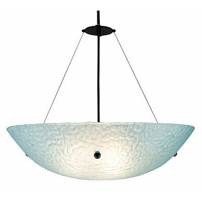 3 Light Bowl Inverted Pendant