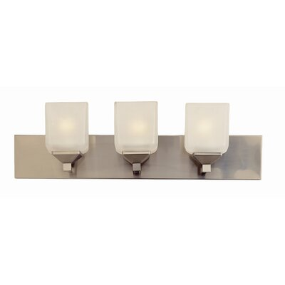 TransGlobe Lighting Contemporary 3 Light Vanity Light