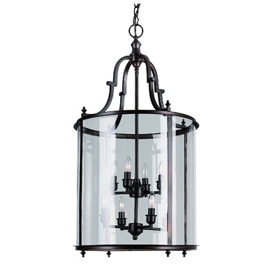 TransGlobe Lighting 8 Light Foyer Pendant