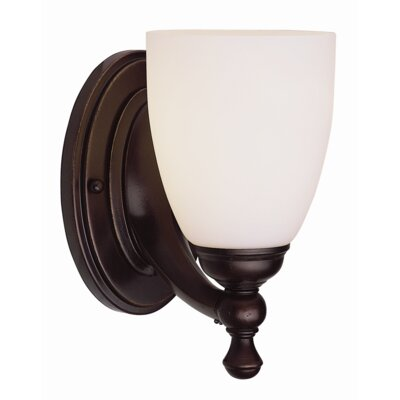 TransGlobe Lighting  Wall Sconce in Rubbed Oil Bronze