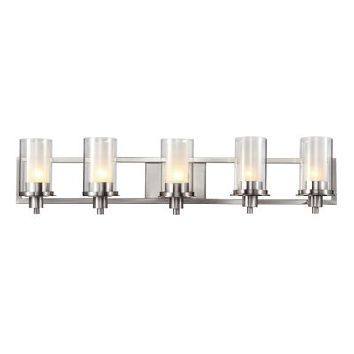 TransGlobe Lighting 5 Light Bath Vanity Light