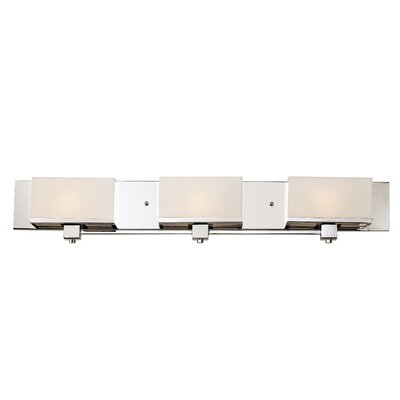 TransGlobe Lighting New Cube 3 Light Bath Vanity Light