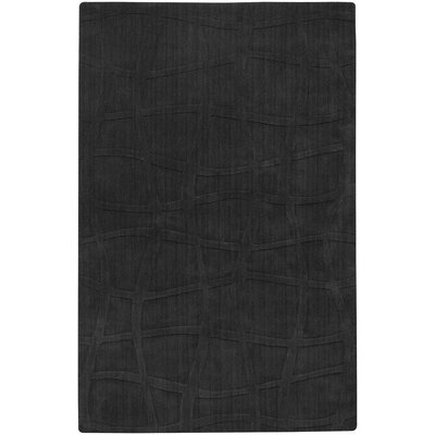 Candice Olson Rugs Sculpture Square Black Checked Rug