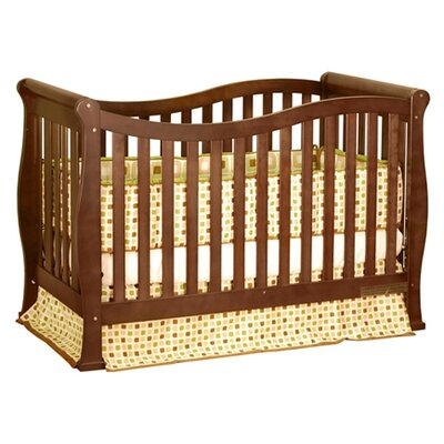 AFG Furniture Athena Nadia Convertible Crib with Toddler Rail in Espresso