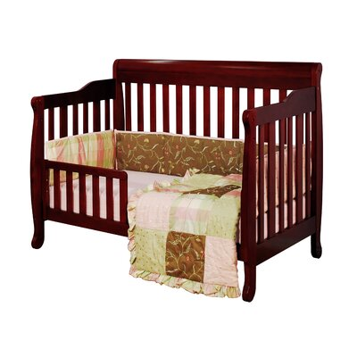 AFG Furniture Athena Alice Two Piece Convertible Crib Set in Cherry