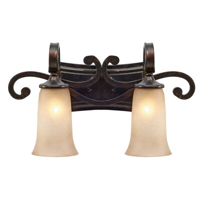 Portland Vanity Light in Fired Bronze