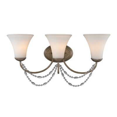 Golden Lighting Mirabella 3 Light Bath Vanity Light