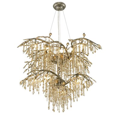 Autumn Twilight 18 Light Crystal Chandelier