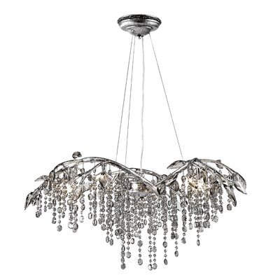Autumn Twilight 6 Light Crystal Chandelier