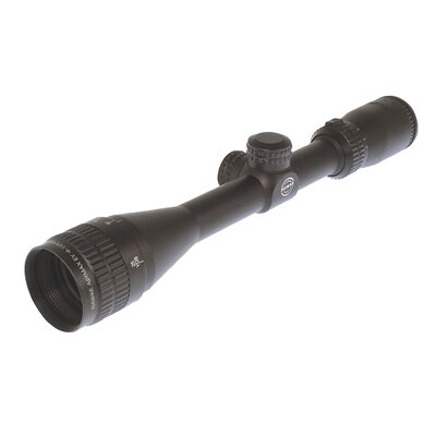 Airmax EV 4-12x50 AO Rifle Scope in Matte Black