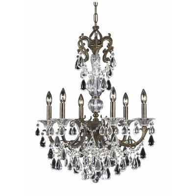 Triarch Lighting Renaissance 6 Light Chandelier