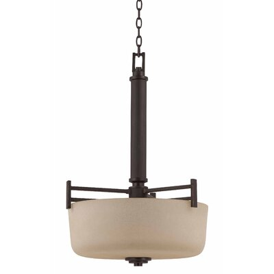 Triarch Lighting Oak Park 3 Light Drum Foyer Pendant