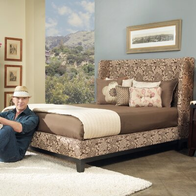 angelo:HOME Marlowe Shelter Wingback Bed