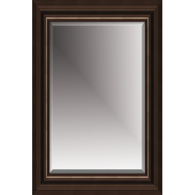 "Michael Payne 46"" Beveled Mirror in Coffee"