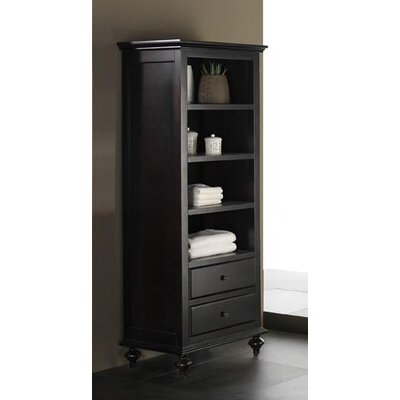 Avanity Merlot Linen Tower in Espresso