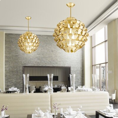 Zaneen Lighting Agave 5 Light Foyer Pendant