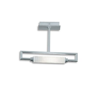 Zaneen Lighting Glim 1 Light Semi Flush