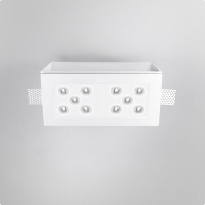 Zaneen Lighting Invisibili 10 Light Fixed LED SpotLights