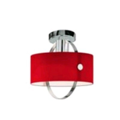 Zaneen Lighting Ring Semi Flush Mount