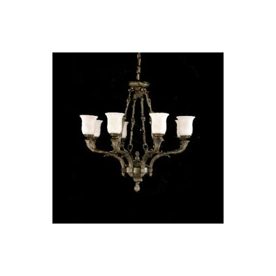 Zaneen Lighting Toledo Traditional Chandelier in Aged Bronze