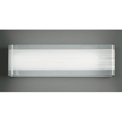 Zaneen Lighting Twist 1 Light Wall Sconce Strip Light
