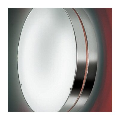 Zaneen Lighting Tamburo Two Light Flush Mount/Wall Light in Gray