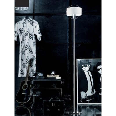 Zaneen Lighting Ring Floor Lamp
