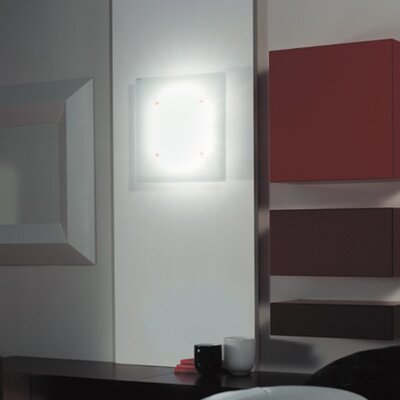 Zaneen Lighting Space 1 Light Flush Mount/Wall Sconce