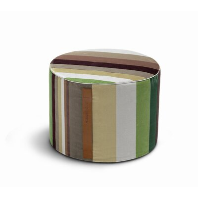 Missoni Home Kyushu Cylindrical Pouf Ottoman