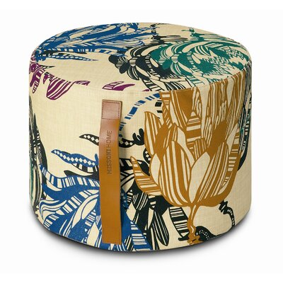 Missoni Home Mezewele Cylindrical Pouf Ottoman